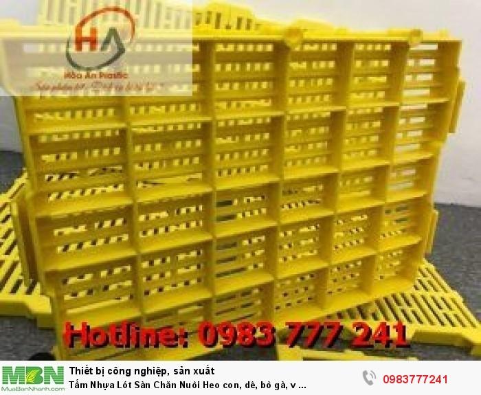 Tấm Nhựa Lót Sàn Chăn Nuôi Chất Lượng Tốt Giá Rẻ13