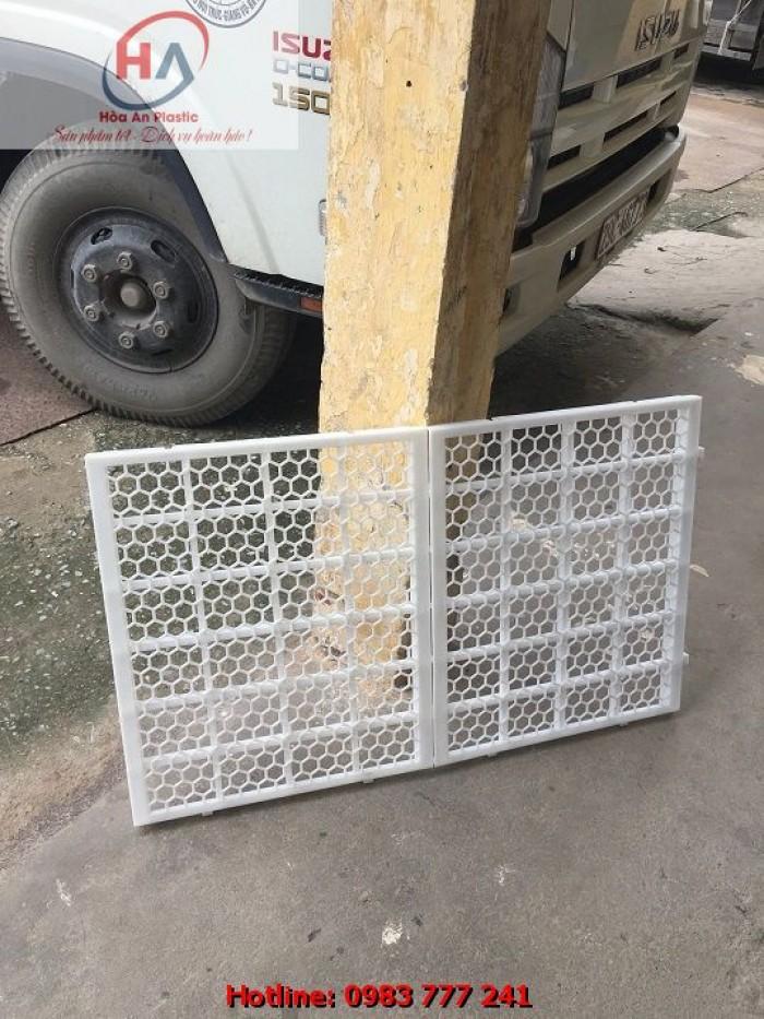 Sàn Vịt Thông Minh - Tấm nhựa lót sàn chuồng vịt (gà) ngan ngỗng4