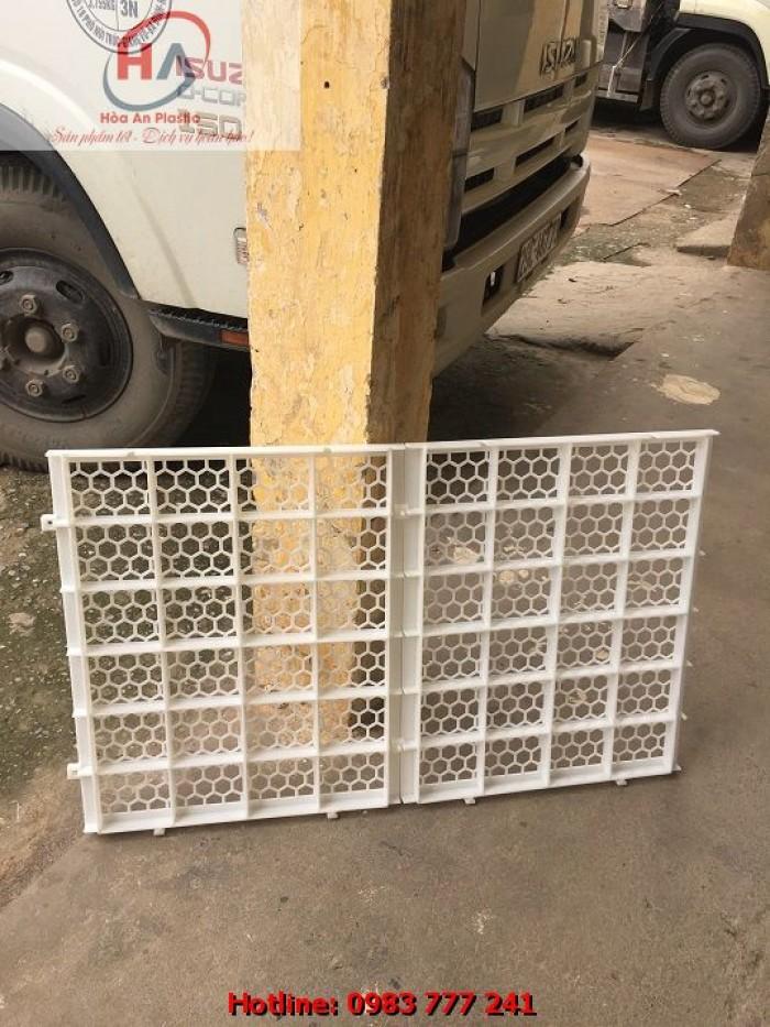 Sàn Vịt Thông Minh - Tấm nhựa lót sàn chuồng vịt (gà) ngan ngỗng6