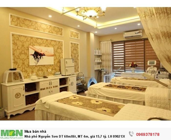 Nhà phố Nguyễn Sơn DT 60mX6t, MT 4m