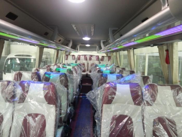 Bán trả góp xe khách ghế ngồi Daewoo cao cấp năm 2017, FX 12 47 chỗ, chất lượng cao, giá sốc.