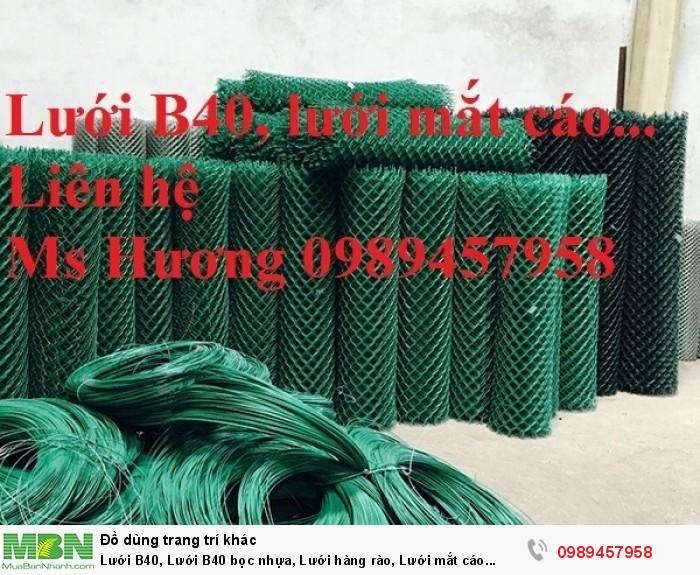 Bán lưới b40 bọc nhựa, B40 mạ kẽm Nam Định, B40 khổ 2,4m, B40 mạ nhúng nóng9