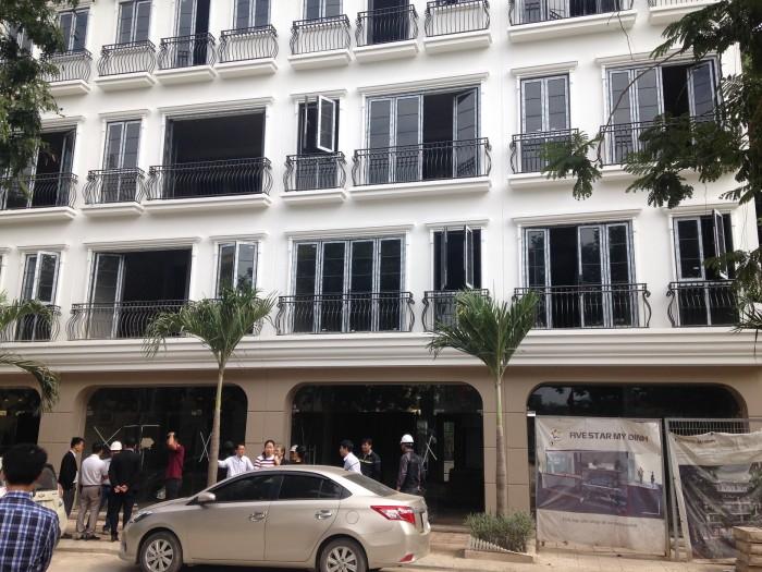 Bán Nhà 71m2 x 5 Tầng Mặt Phố Trần Văn Lai Tiện Kinh Doanh