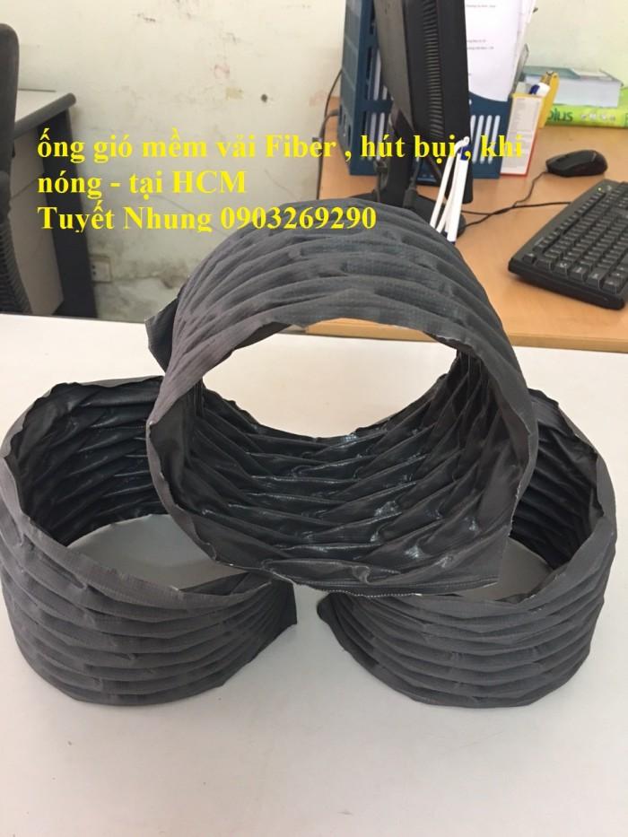 Ống gió mềm vải Tapaulin Hàn Quốc D75, D100, D125, D150, D200, D250, D300, D400, D50010