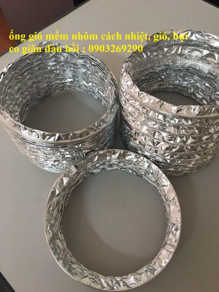 Ống gió mềm vải Tapaulin Hàn Quốc D75, D100, D125, D150, D200, D250, D300, D400, D50015
