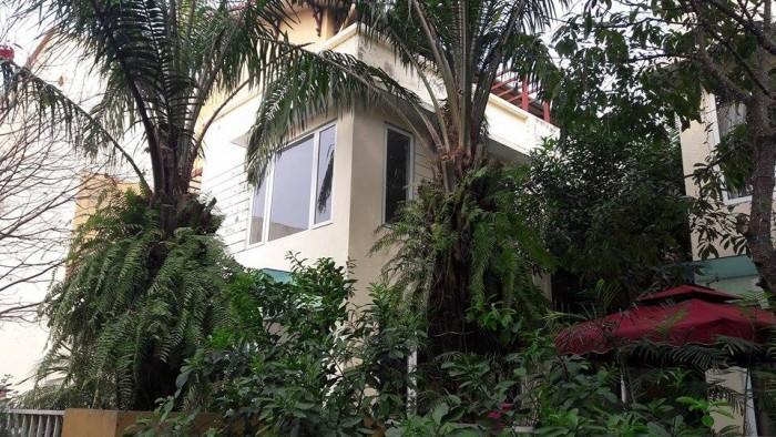 Bán Biệt thự khu đô thị Việt Hưng,Vườn cọ Palm DT223m2 x 3t, Đông nam.