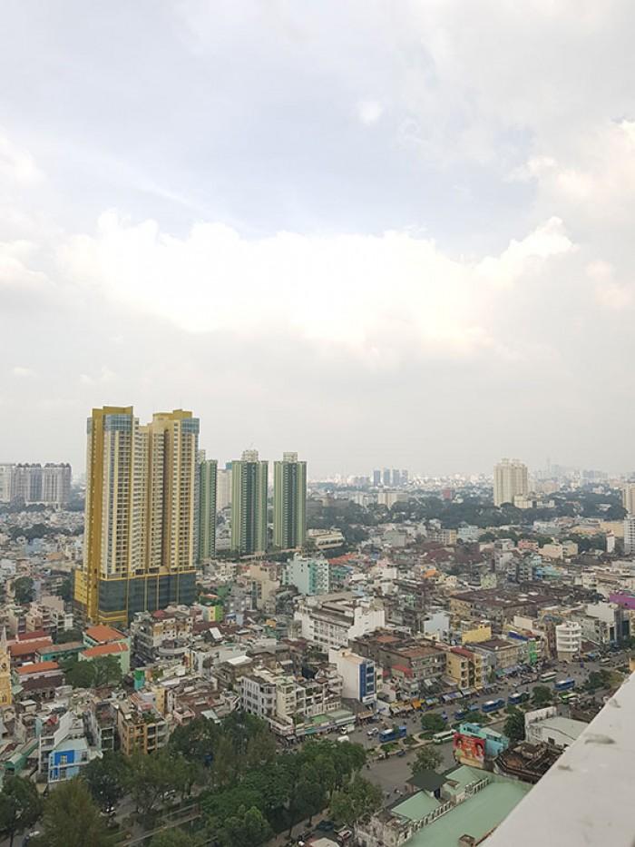Cho thuê nhanh căn hộ 82m2, 2PN mặt tiền Phan Văn Khỏe Q6, gần trung tâm bưu điện Q5.