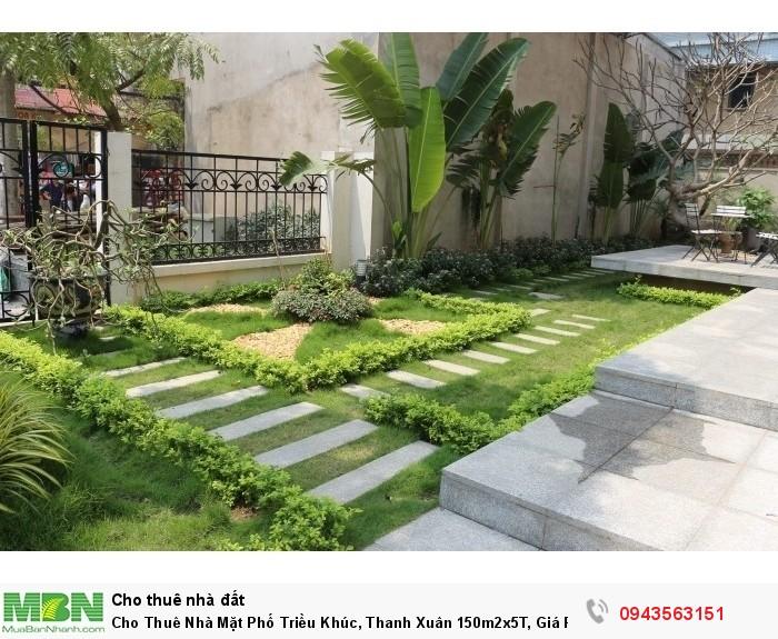 Cho Thuê Nhà Mặt Phố Triều Khúc, Thanh Xuân 150m2x5T, Giá Rẻ