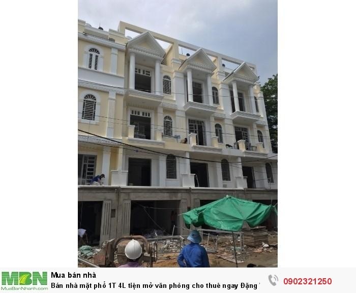 Bán nhà mặt phố 1T 4L tiện mở văn phòng cho thuê ngay Đặng Văn Bi P trường Thọ DT 68m2 (4.6x14) đường 6m