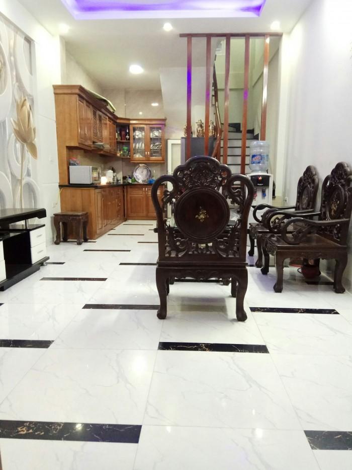 Bán nhà ngõ 670 Nguyễn Khoái Đại Đồng  Dt 33m2x4t Full nội thất giá 1.87 tỷ