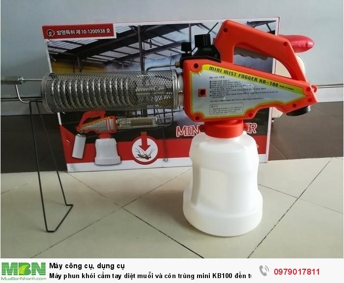 Máy phun khói cầm tay diệt muỗi và côn trùng mini KB100 đến từ Hàn Quốc