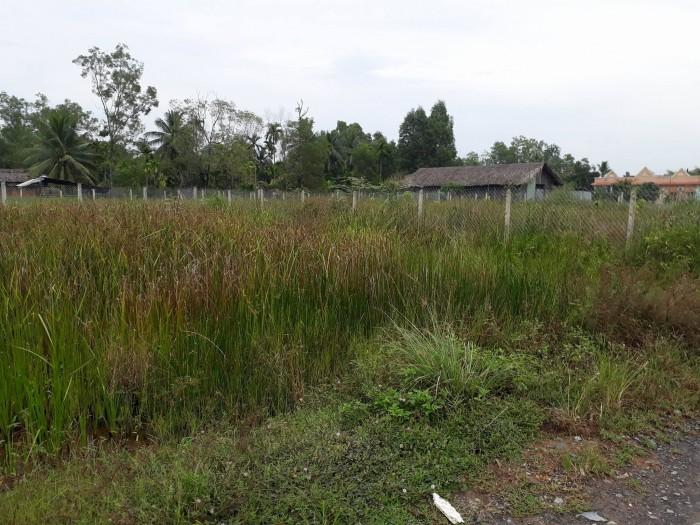 Đất góc 2mt đường 206, Long Thuận, dt 500m2=20x25m, giá 8tr/m2, sát BT tà áo dài