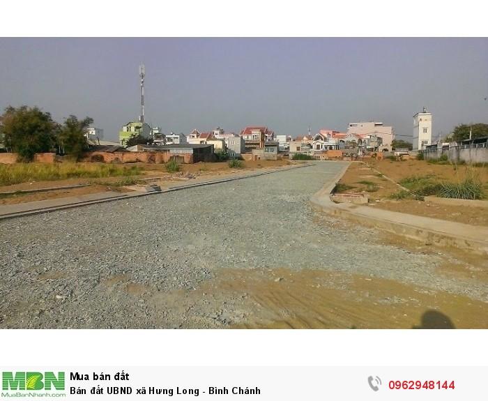 Bán đất UBND xã Hưng Long - Bình Chánh