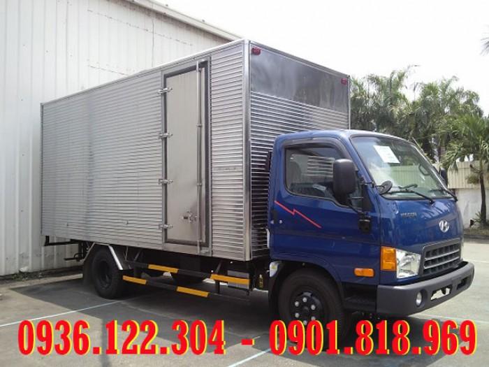 Xe tải Hyundai 6T3 thùng kín HD99