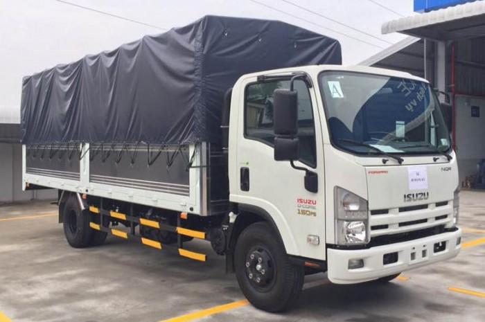 Xe tải Isuzu 5 tấn/5,5 tấn thùng dài 5m7 6m2. Giá xe tải Isuzu 5T5 5T tốt nhất Sài Gòn