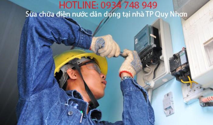Sửa Chữa Điện Nước Dân Dụng Tại Nhà - TP Quy Nhơn - 0934 748 949