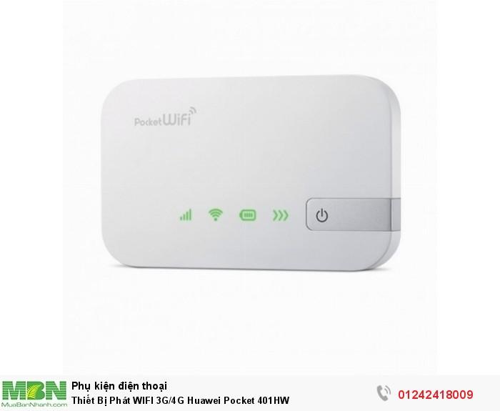 Thiết Bị Phát WIFI 3G/4G Huawei Pocket 401HW