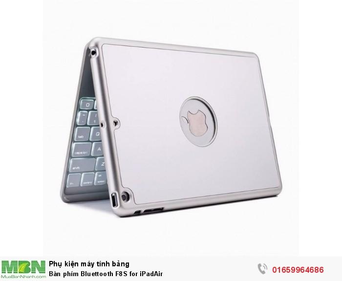 Bàn phím Bluettooth F8S for iPadAir0