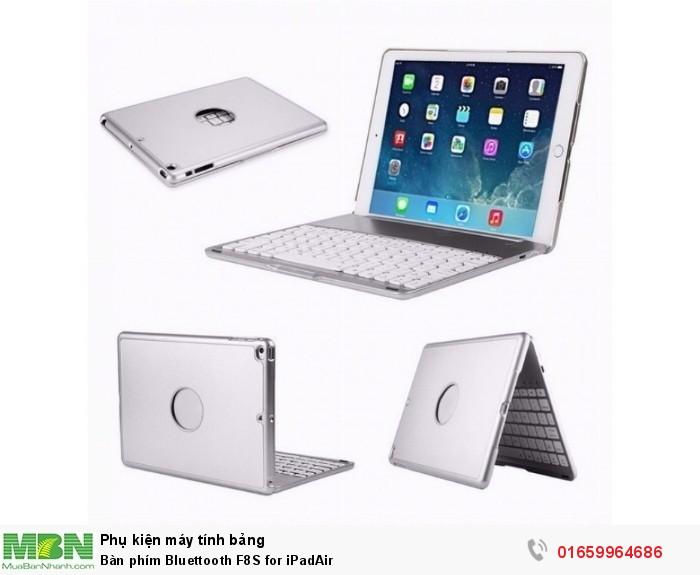 Bàn phím Bluettooth F8S for iPadAir1