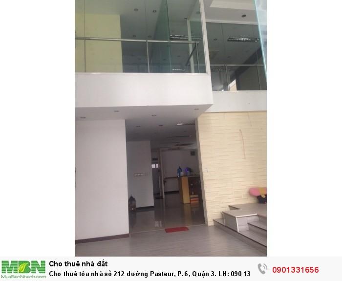 Cho thuê tòa nhà  số 212 đường Pasteur, P. 6, Quận 3