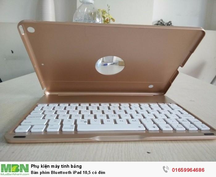 Bàn phím Bluettooth iPad 10,5 có đèn