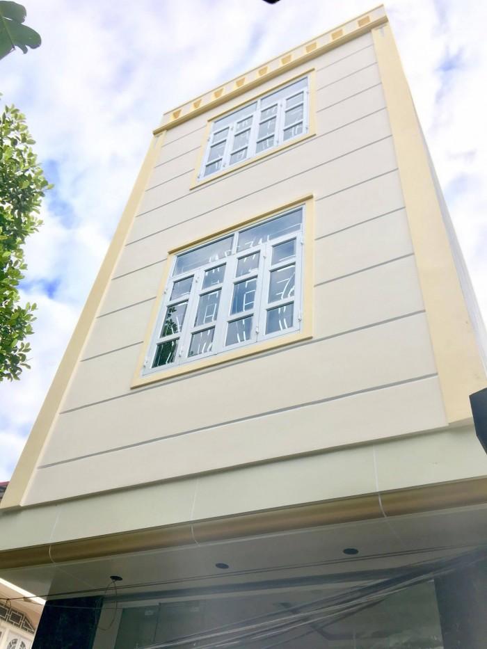 Nhà 3 tầng xây mới khung cột, độc lập, ngõ 170 Thiên Lôi