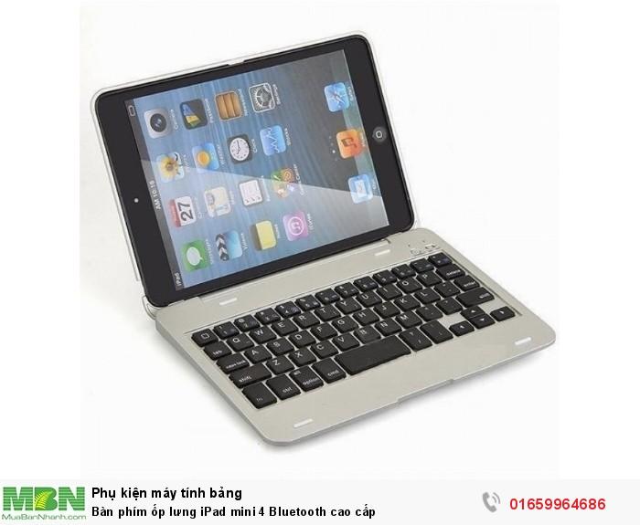 Bàn phím ốp lưng iPad mini 4 Bluetooth cao cấp0