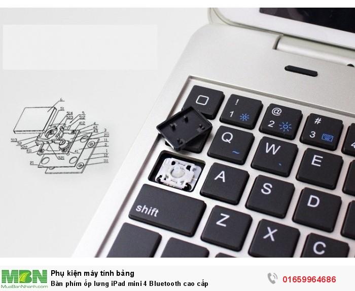 Bàn phím ốp lưng iPad mini 4 Bluetooth cao cấp1