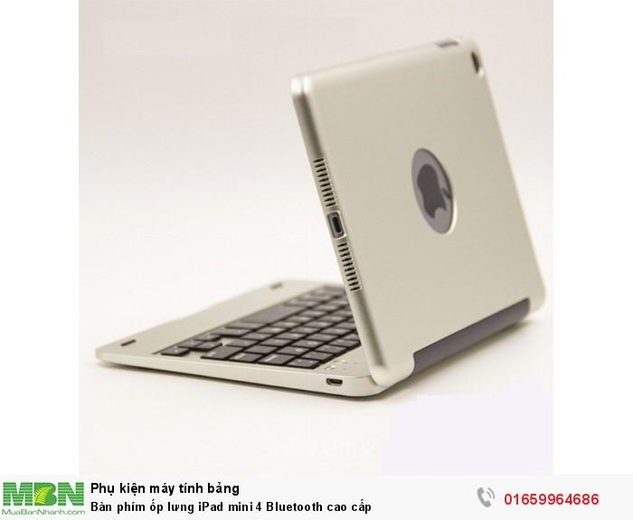 Bàn phím ốp lưng iPad mini 4 Bluetooth cao cấp2