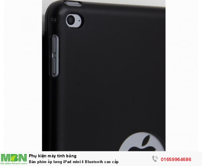 Bàn phím ốp lưng iPad mini 4 Bluetooth cao cấp3