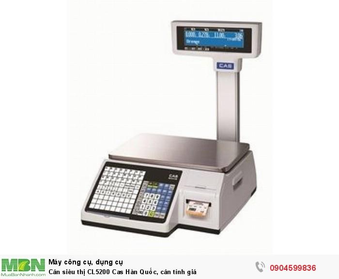 Cân siêu thị CL5200 Cas0