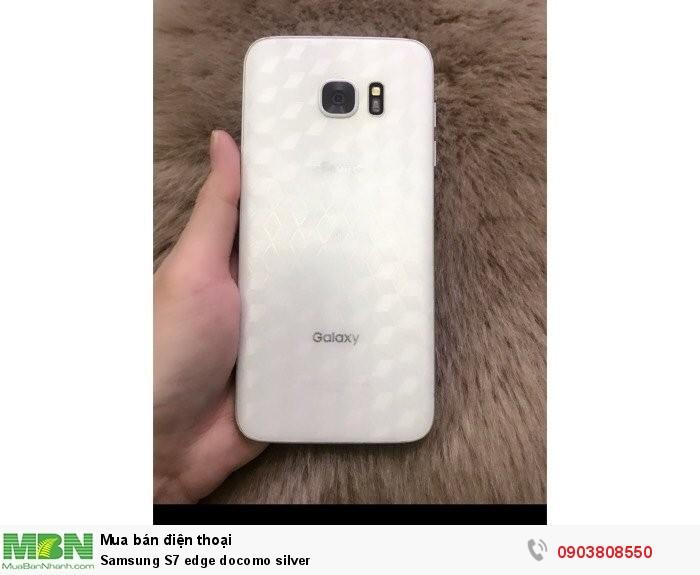 Samsung S7 Edge Docomo Silver Da Qua Su Dung Gia 6500
