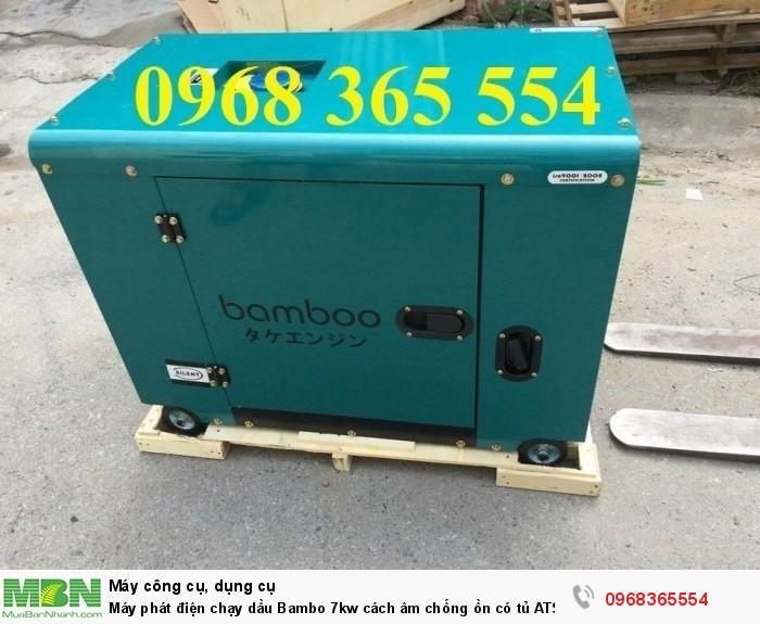 máy phát điện bambo chạy dầu 7kw1