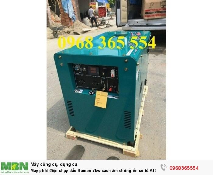máy phát điện bambo 5kw2