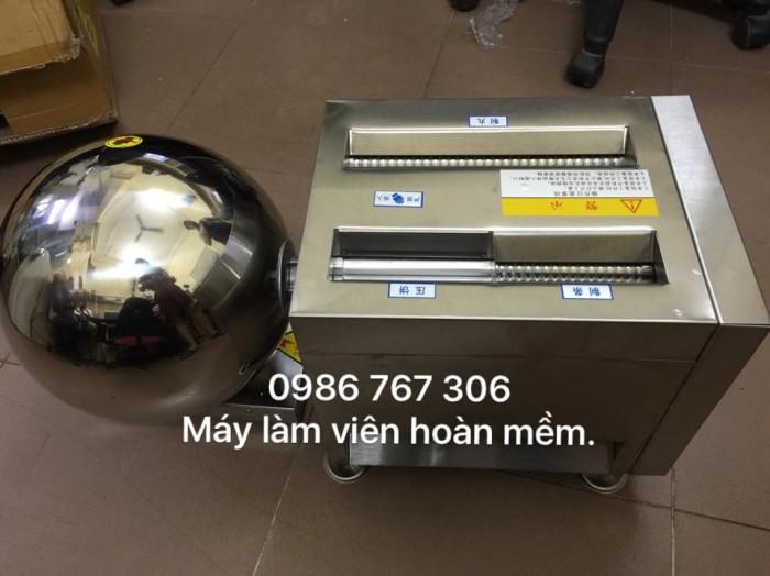 Máy làm bánh nhãn,máy vo viên tròn bánh nhãn,trân châu giá rẻ tại hà nội.0