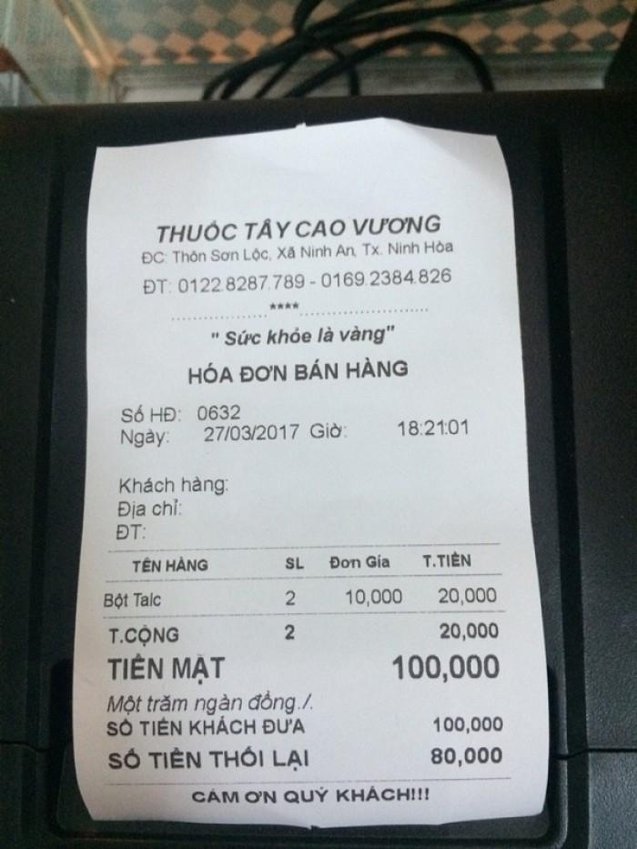 Máy in bill ( in hóa đơn ) nhiệt  k80 tự động cắt giấy ( giao hàng toàn quốc )