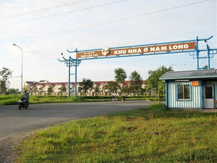 Bán đất 100% thổ cư KDC Nam Long