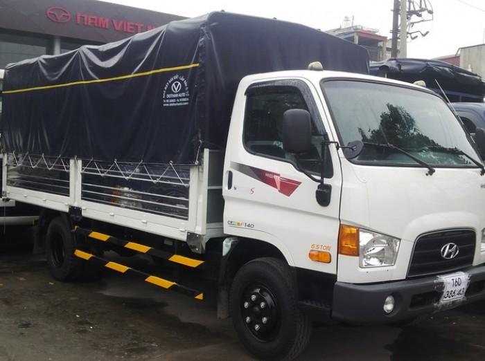 Xe tai Hyundai 8 tan/8T – Giá xe Hyundai HD120S 8 tấn/8T – HD120S dòng nâng tải 8T/8Tan