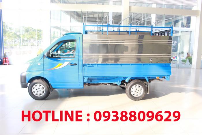 Xe tải nhẹ THACO TOWNER 990 lưu thông thành phố 3