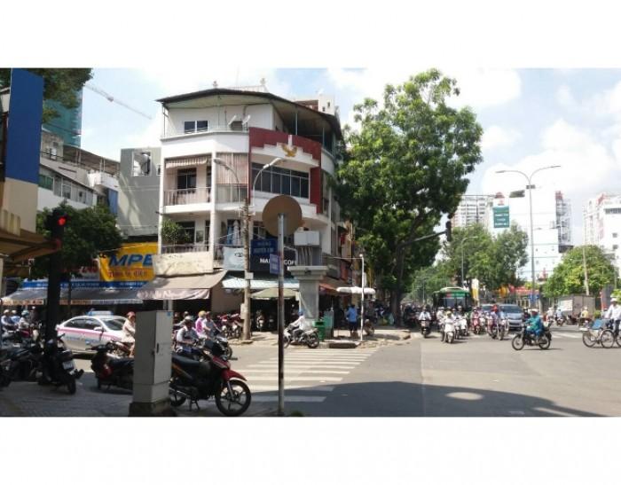 Bán nhà góc 2MT đường 3 Tháng 2, Nguyễn Kim, Trệt 3 lầu. Cho thuê giá cao.
