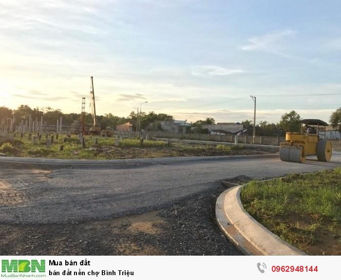 Bán đất nền chợ Bình Triệu