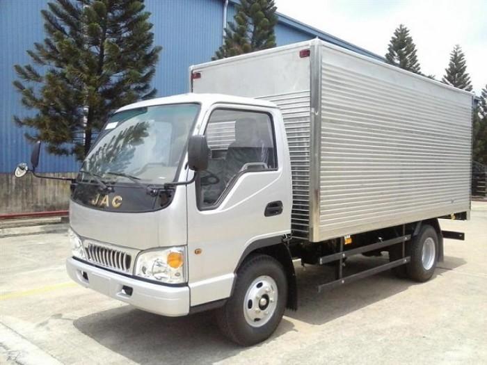 xe tải jac 2 tấn 4  thùng dài 3 ,7 mét 0