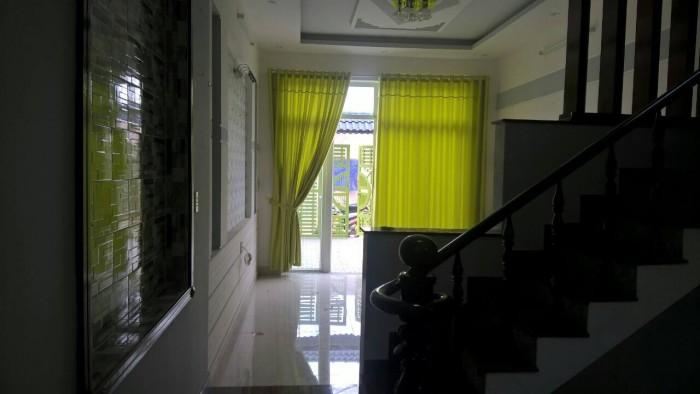 Nhà mặt tiền Nguyễn Văn Bứa mới xây, sổ hồng