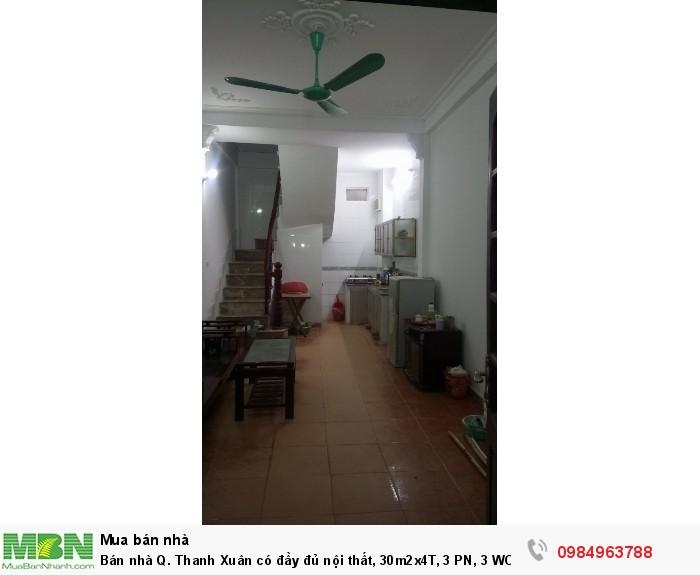 Nhà ngõ 300 Nguyễn Xiển, 3 PN, đủ nội thất 1,7 tỉ LH 0984963788