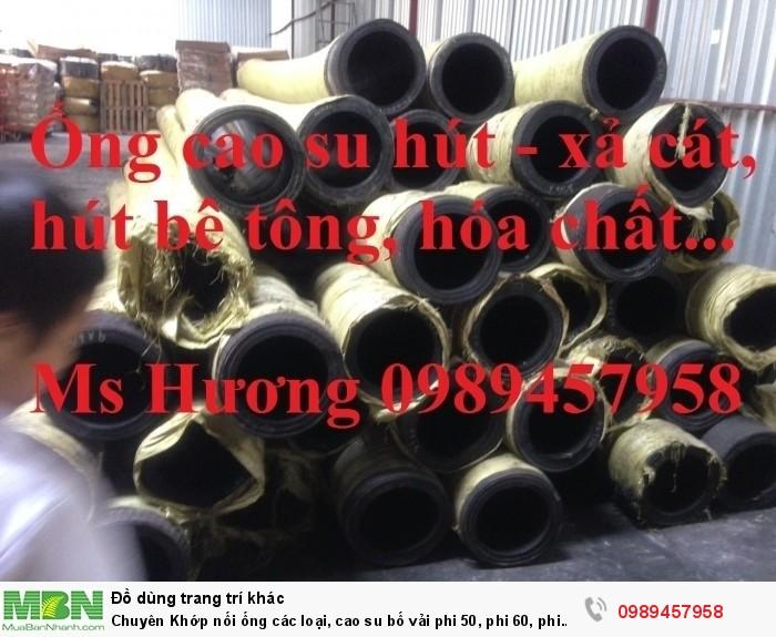 Chuyên Khớp nối ống các loại, cao su bố vải phi 50, phi 60, phi 70... hàng có sẵn số lượng lớn3