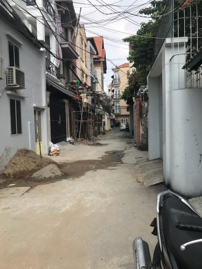 Bán gấp nhà HXH Lê Quang Định: 5,1x12m2, 4 tầng lung linh.