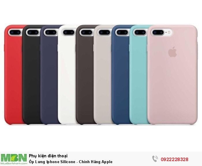 Ốp Lưng Iphone Silicone - Chính Hãng Apple