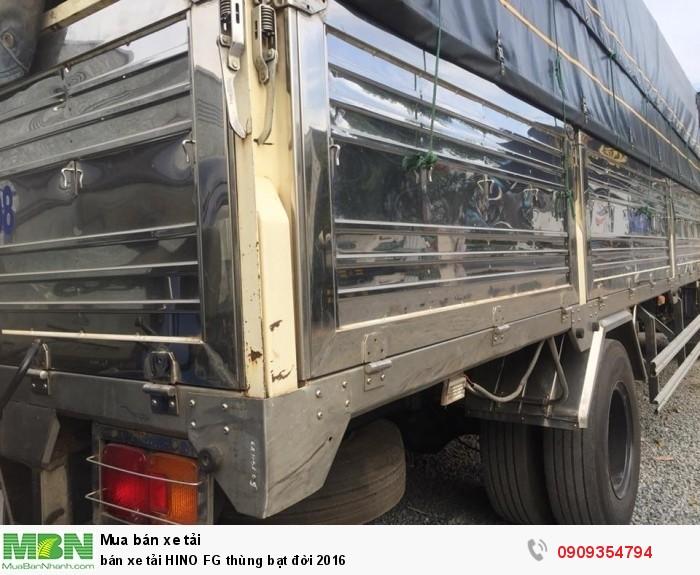 Bán xe tải HINO FG thùng bạt đời 2016