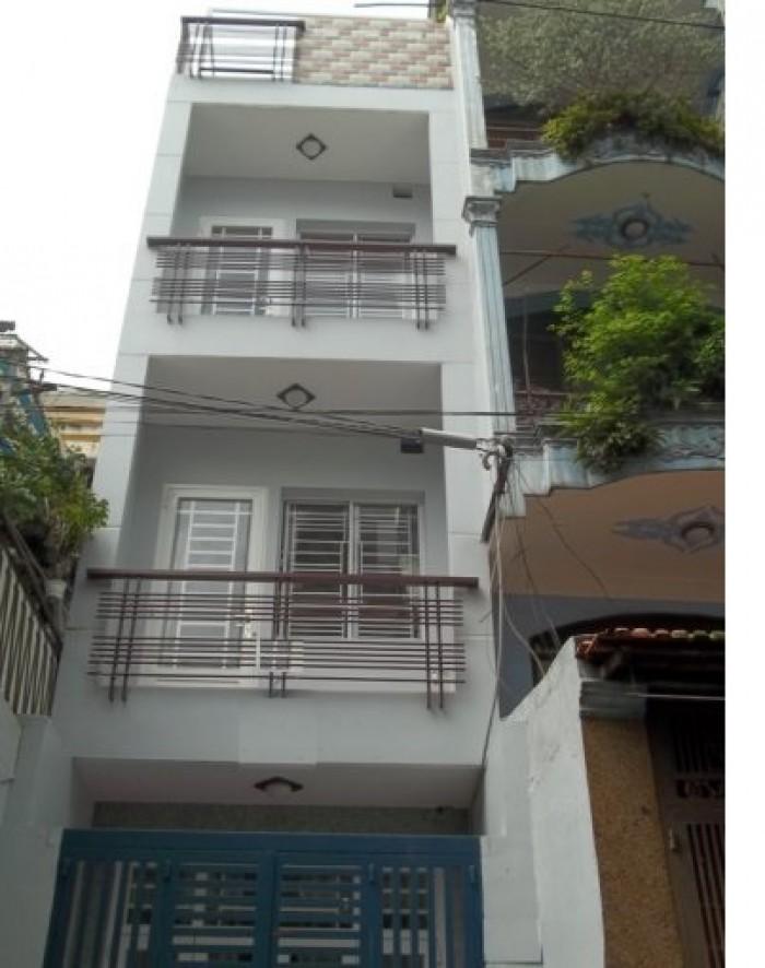PN938_Cần bán nhà đường Võ Văn Vân - Bình Tân. Diện tích: 4,19x13,5m. Nhà cấp 3, đúc 2,5 tấm