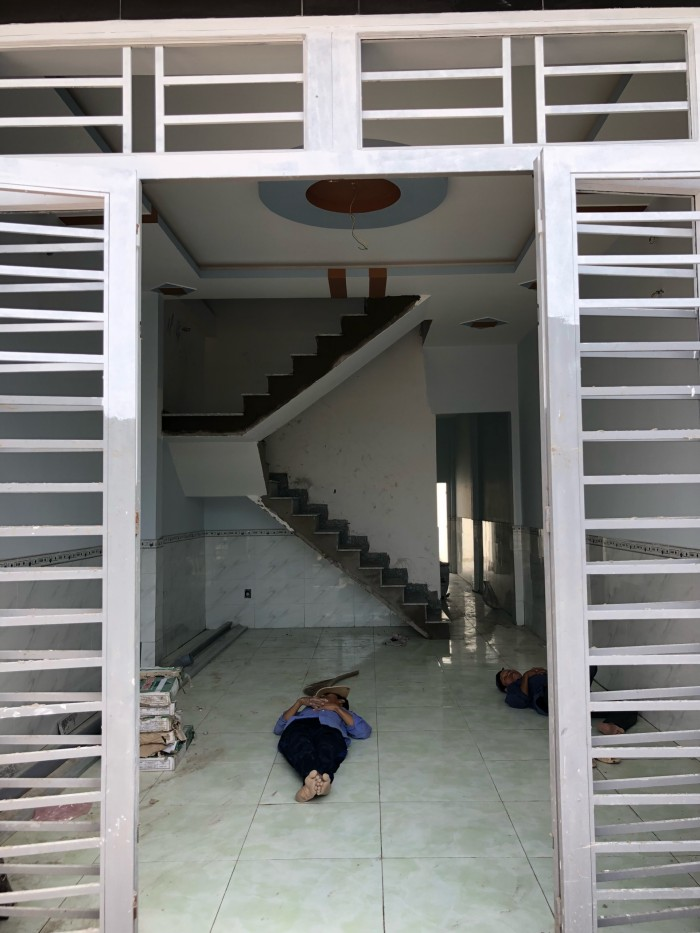 Nhà lầu mới xây theo kiến trúc Châu Âu, SHR.